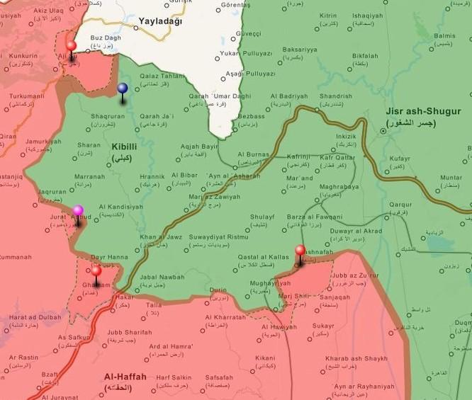 Tấn công với T-90 ở Aleppo, thế phong tỏa biên giới Thổ Nhĩ Kỳ của quân đội Syria rõ dần ảnh 12