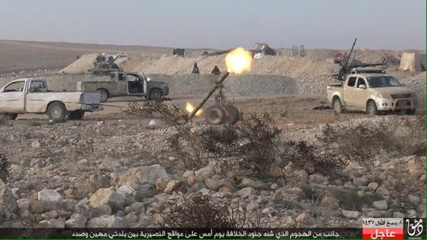 Tấn công với T-90 ở Aleppo, thế phong tỏa biên giới Thổ Nhĩ Kỳ của quân đội Syria rõ dần ảnh 17