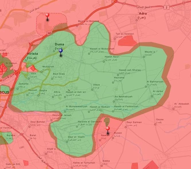 Tấn công với T-90 ở Aleppo, thế phong tỏa biên giới Thổ Nhĩ Kỳ của quân đội Syria rõ dần ảnh 18