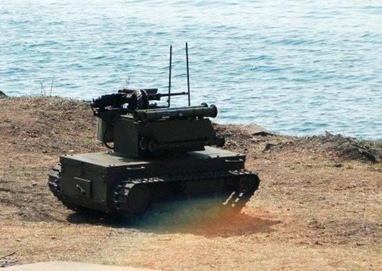 Lần đầu tiên robots quân sự Nga tham gia chống khủng bố ở Syria ảnh 10