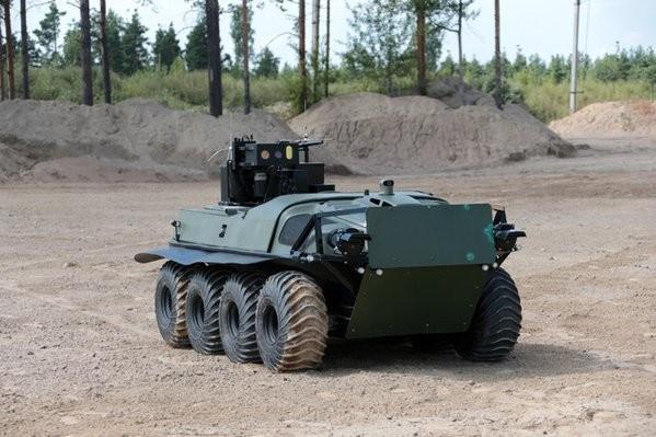 Lần đầu tiên robots quân sự Nga tham gia chống khủng bố ở Syria ảnh 11
