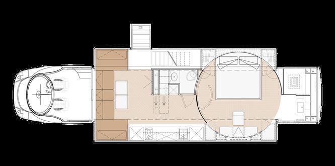 Căn nhà di động sang trọng nhất thế giới eleMMent Palazzo ảnh 7