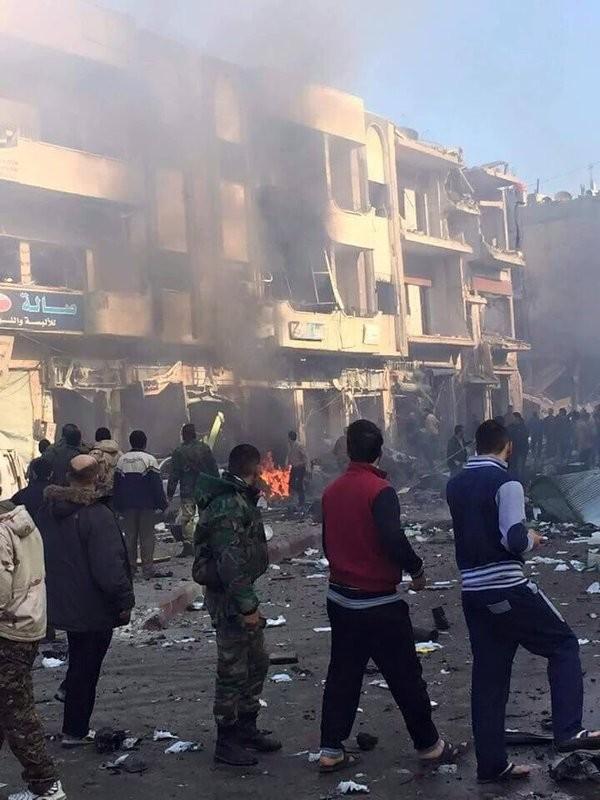 Quân đội Syria nỗ lực tấn công mở rộng vùng kiểm soát ảnh 10