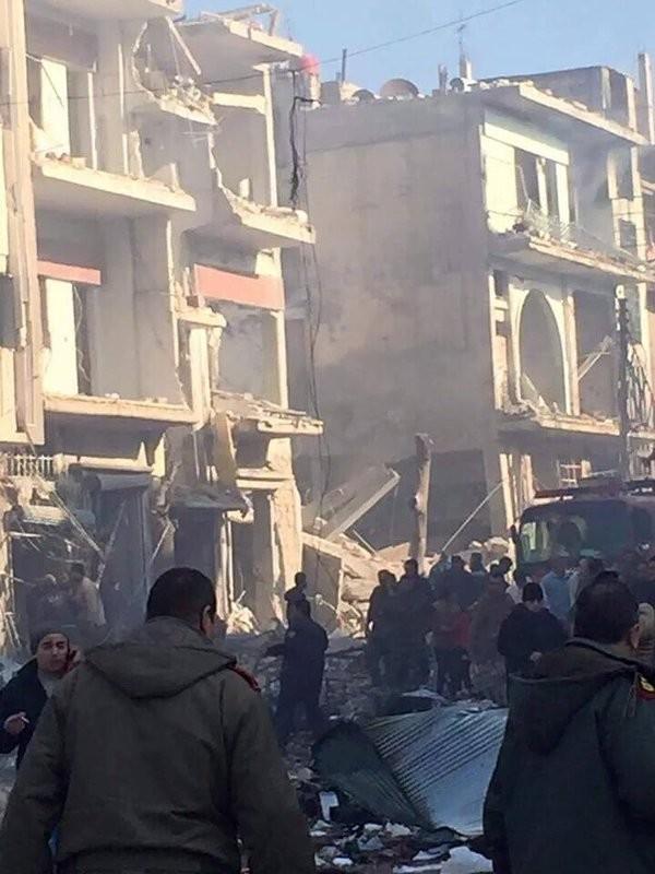 Quân đội Syria nỗ lực tấn công mở rộng vùng kiểm soát ảnh 11