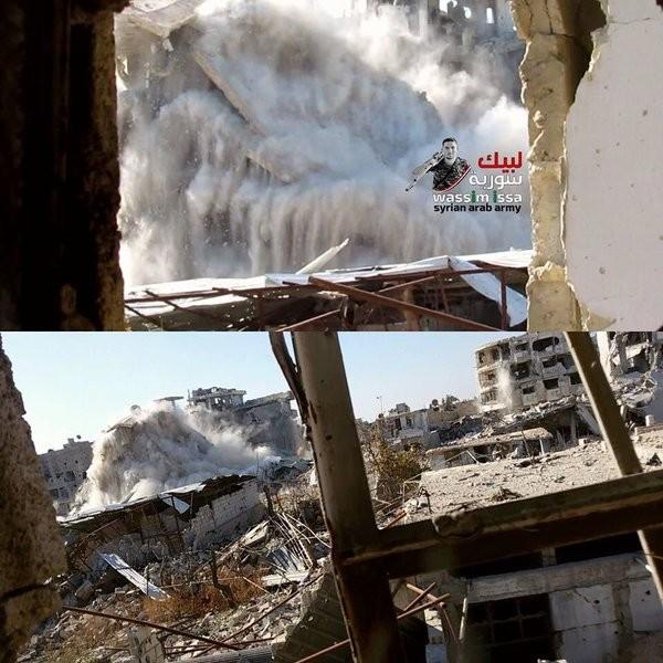 Quân đội Syria nỗ lực tấn công mở rộng vùng kiểm soát ảnh 35