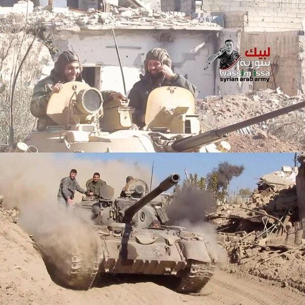 Quân đội Syria nỗ lực tấn công mở rộng vùng kiểm soát ảnh 37