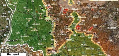 Quân đội Syria giành được thành phố Sheikh Miskeen, tỉnh Dara'a ảnh 1