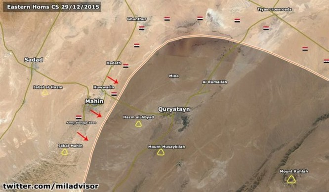 Mặt trận địa chính trị tăng nhiệt, quân đội Syria đẩy mạnh tấn công cuối năm ảnh 4