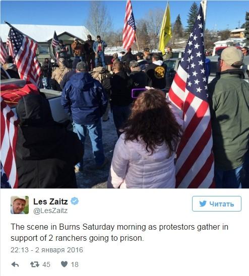 Mỹ: Người dân vũ trang chiếm trụ sở của chính quyền liên bang ảnh 2