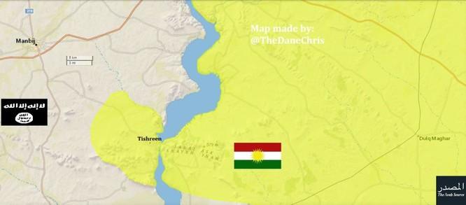 IS bất ngờ thua, dâng 100 làng cho người Kurd ảnh 1