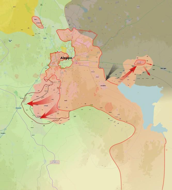 Quân đội Syria tiếp tục tấn công ở miền Nam Aleppo ảnh 1