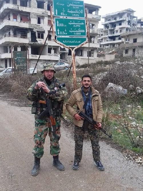 Chùm ảnh đầu tiên về chiến thắng Salma của lữ đoàn 103 ảnh 1