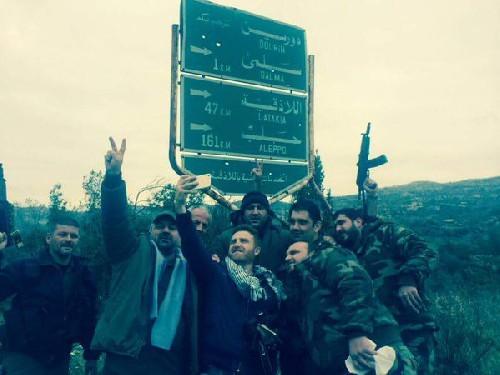 Chùm ảnh đầu tiên về chiến thắng Salma của lữ đoàn 103 ảnh 3