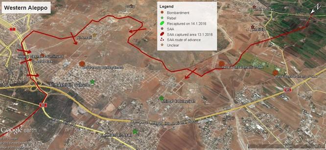 Quân đội Syria tấn công miền Nam Aleppo, diệt nhiều phần tử khủng bố ảnh 1