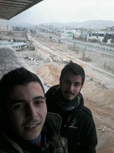 Video: chiến tuyến quân đội Syria ngày đầu năm ảnh 2