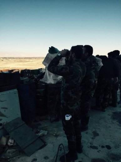 Video: chiến tuyến quân đội Syria ngày đầu năm ảnh 4