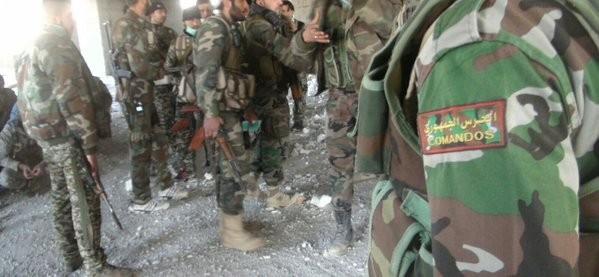 Video: chiến tuyến quân đội Syria ngày đầu năm ảnh 6