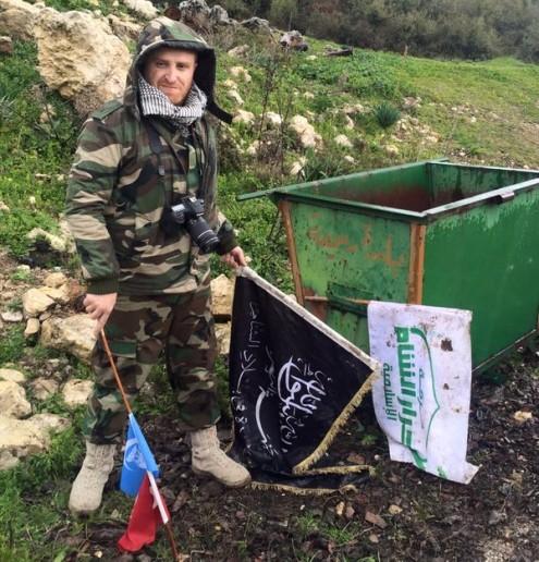 Chùm ảnh đầu tiên thị trấn mới giải phóng Rabia, Latakia ảnh 1