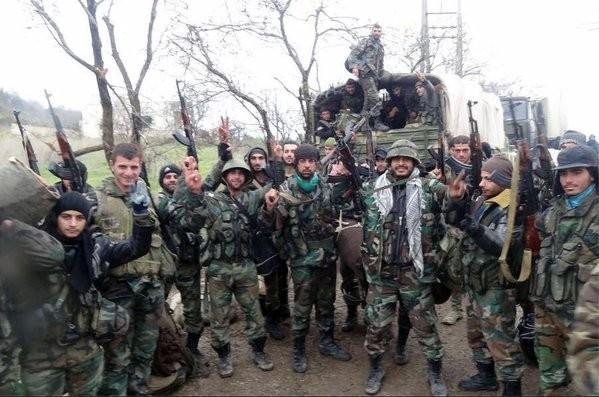 Chùm ảnh đầu tiên thị trấn mới giải phóng Rabia, Latakia ảnh 2