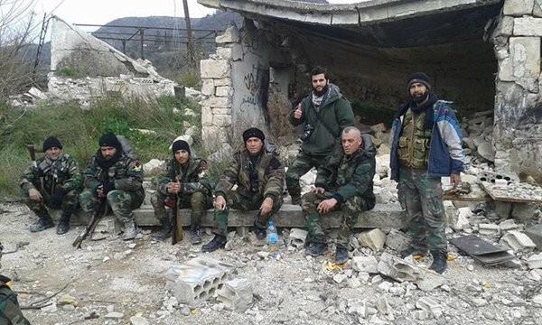 Chùm ảnh đầu tiên thị trấn mới giải phóng Rabia, Latakia ảnh 3
