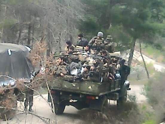 Chùm ảnh đầu tiên thị trấn mới giải phóng Rabia, Latakia ảnh 4
