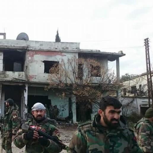 Chùm ảnh đầu tiên thị trấn mới giải phóng Rabia, Latakia ảnh 5