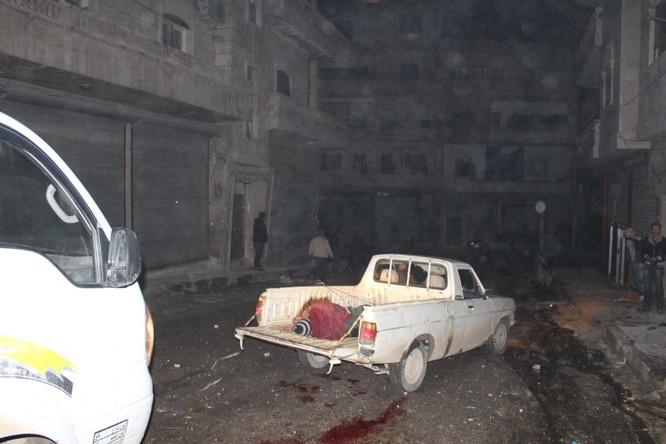 Quân đội Syria dùng tên lửa đạn đạo diệt hàng chục tên khủng bố ảnh 3