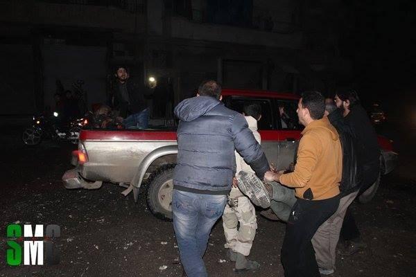 Quân đội Syria dùng tên lửa đạn đạo diệt hàng chục tên khủng bố ảnh 4