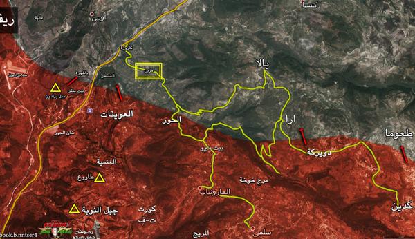 Phiến quân Hồi giáo tấn công ở Hama, Daraa thất bại, tổn thất nặng nề ảnh 19
