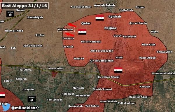 Lực lượngTigers tiến sát đến Nhà máy nhiệt điện Aleppo ảnh 1