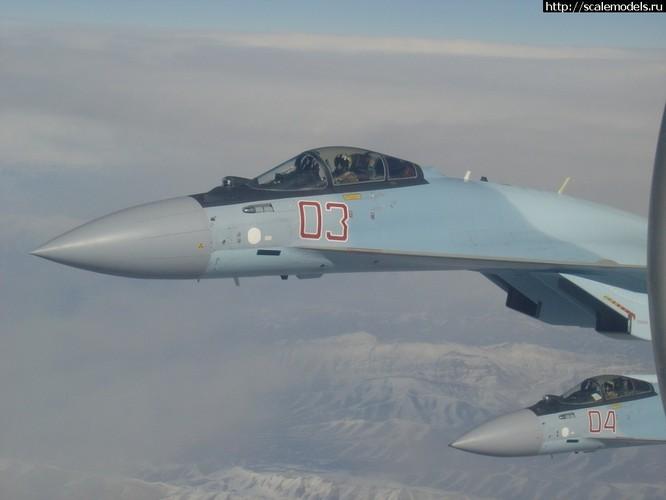 Sốc: Nghi vấn Nga đưa Su-35S đến đối phó với Thổ Nhĩ Kỳ ảnh 6