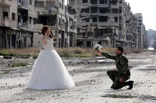 Thành Homs Syria, nơi cuộc sống mạnh hơn chiến tranh ảnh 1