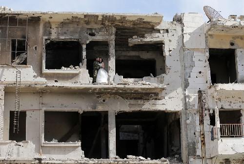 Thành Homs Syria, nơi cuộc sống mạnh hơn chiến tranh ảnh 3