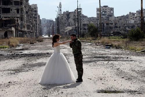 Thành Homs Syria, nơi cuộc sống mạnh hơn chiến tranh ảnh 4