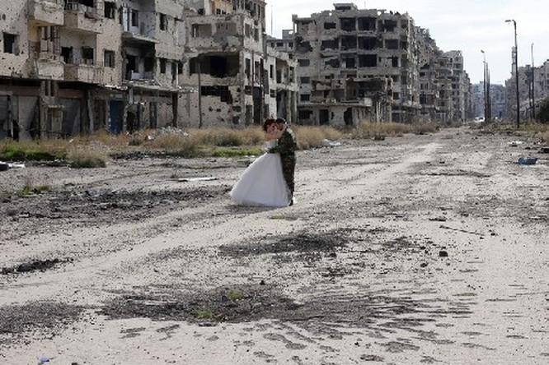 Thành Homs Syria, nơi cuộc sống mạnh hơn chiến tranh ảnh 7