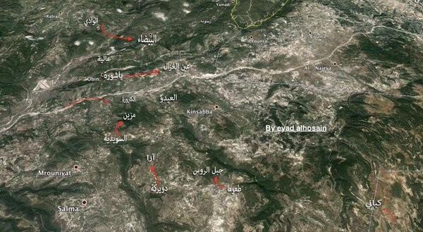 Quân đội Syria chiếm nhiều địa bàn ở Lattakia, khủng bố kinh hoàng ở Damascus ảnh 16