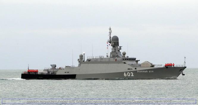 Vì mục đích gì khinh hạm tên lửa Zelenyi Dol đến Syria? ảnh 1