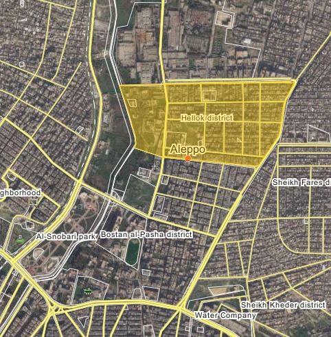 YPG và SDF tấn công lực lượng Hồi giáo cực đoan ở thành phố Aleppo ảnh 1