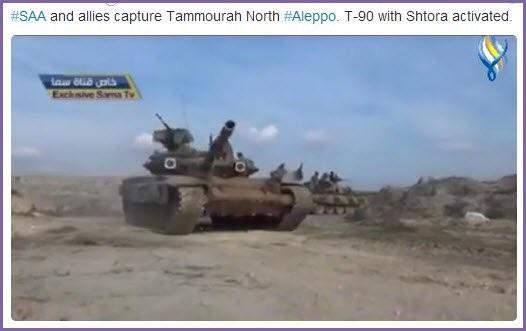 Quân đội Syria tiến công mạnh ở Aleppo và Raqqa với vũ khí mới của Nga ảnh 1