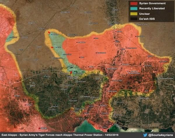 Quân đội Syria tiến công mạnh ở Aleppo và Raqqa với vũ khí mới của Nga ảnh 3