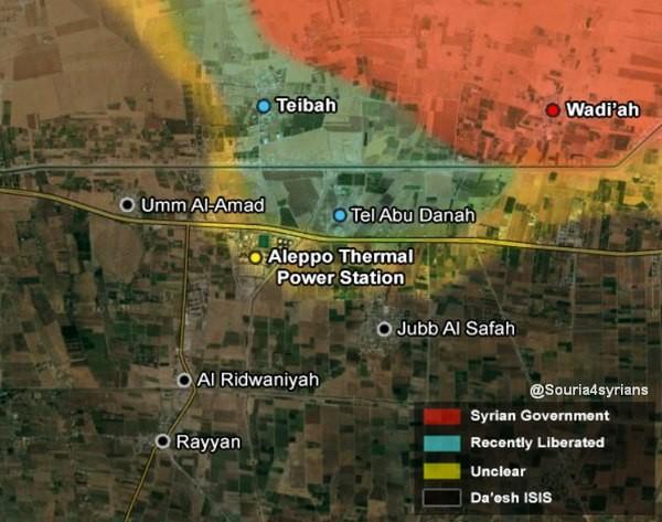 Quân đội Syria tiến công mạnh ở Aleppo và Raqqa với vũ khí mới của Nga ảnh 20