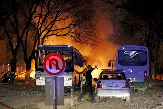 Khủng bố ở Ankara khiến 28 người thiệt mạng ảnh 3