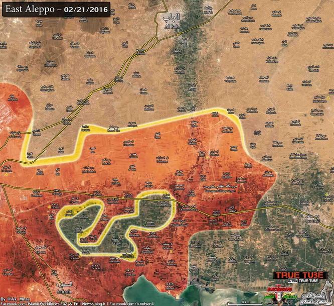 Chiến trường Aleppo, một bước tiến mới của quân đội Syria ảnh 2