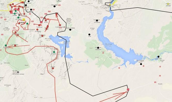 Chiến trường Aleppo, một bước tiến mới của quân đội Syria ảnh 3
