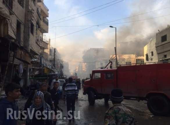 Sốc: Tấn công khủng bố tại thành phố Damascus, Homs hàng trăm người thiệt mạng ảnh 1