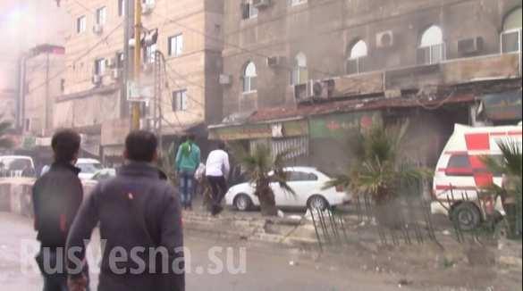 Sốc: Tấn công khủng bố tại thành phố Damascus, Homs hàng trăm người thiệt mạng ảnh 2