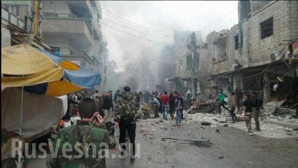 Sốc: Tấn công khủng bố tại thành phố Damascus, Homs hàng trăm người thiệt mạng ảnh 4