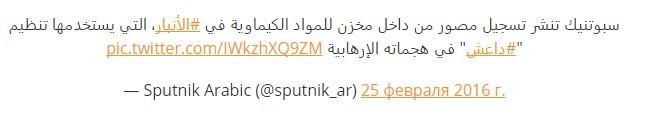 Sputnik: Đã chứng minh được IS sử dụng vũ khí hóa học ảnh 3