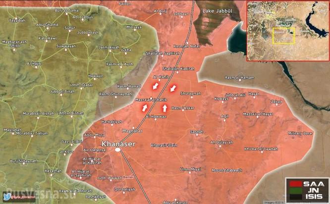 Lực lượng Tigers giải phóng hoàn toàn tuyến đường quốc lộ Khanasser-Aleppo ảnh 1