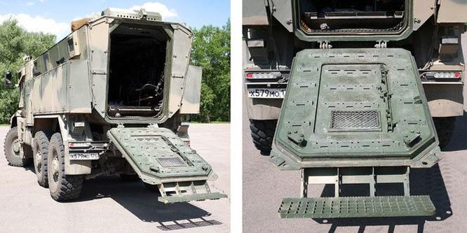 """Cận cảnh xe vận tải thiết giáp """"Taifun-U"""" chống bạo loạn, khủng bố ảnh 24"""